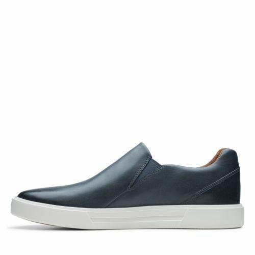 Clarks Men/'s Un Costa Step Dark Blue Leather Casual Shoes 26141613