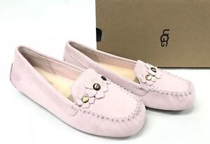 4ac3f02b486 Details about Ugg Australia LIZZY POPPY Seashell Pink 1097113 Casual Flower  Moccasins Slippers