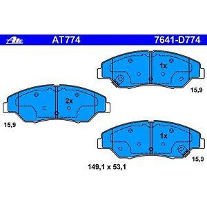 1998 1999 2000 For Kia Sportage Front Ceramic Brake Pads