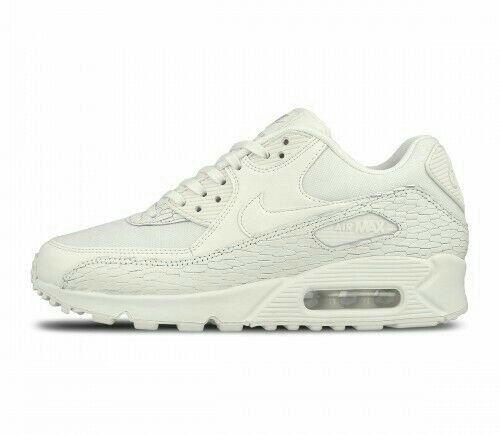39008a7762 Nike Womens Air Max 90 PRM Lea Running Trainers 904535 100 SNEAKERS Shoes  UK 5.5 US 8 EU 39 for sale online | eBay