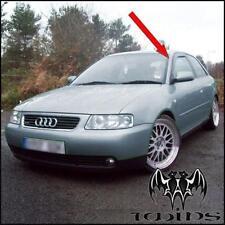 Déflecteurs de vent pluie air teintées pour Audi A3 8L 3 portes 1996-2003 3p