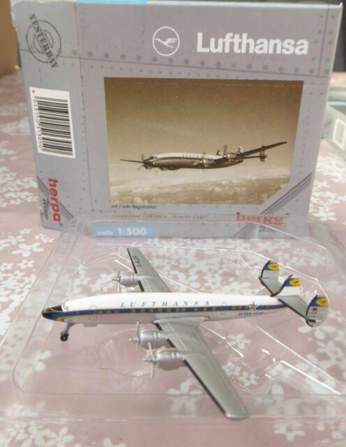 Herpa Wings 513050 Lufthansa Lockheed L 1649A Constellation Super Star 1:500,OVP