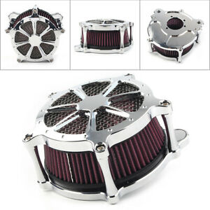 Air-Cleaner-Intake-Filter-For-Harley-Dyna-Softail-Fatboy-Touring-Glide-FLHT