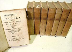 Alchimia-Scopoli-Macquer-Dizionario-di-Chimica-1783-Pavia-Pergamena-8v
