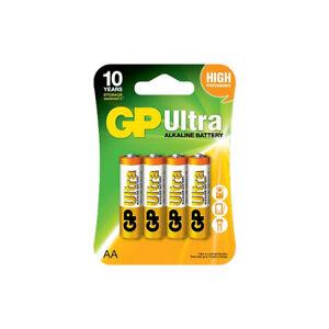 GP Batteries Ultra Alkaline AA - 4 Pack