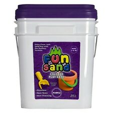 ThorWorks Industries Fun Sand-30lbs Color Purple Non-staining Non-toxic Kid Play