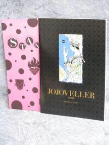 JOJOVELLER-Mini-Art-Fan-Book-HIROHIKO-ARAKI-Booklet-2014-Ltd