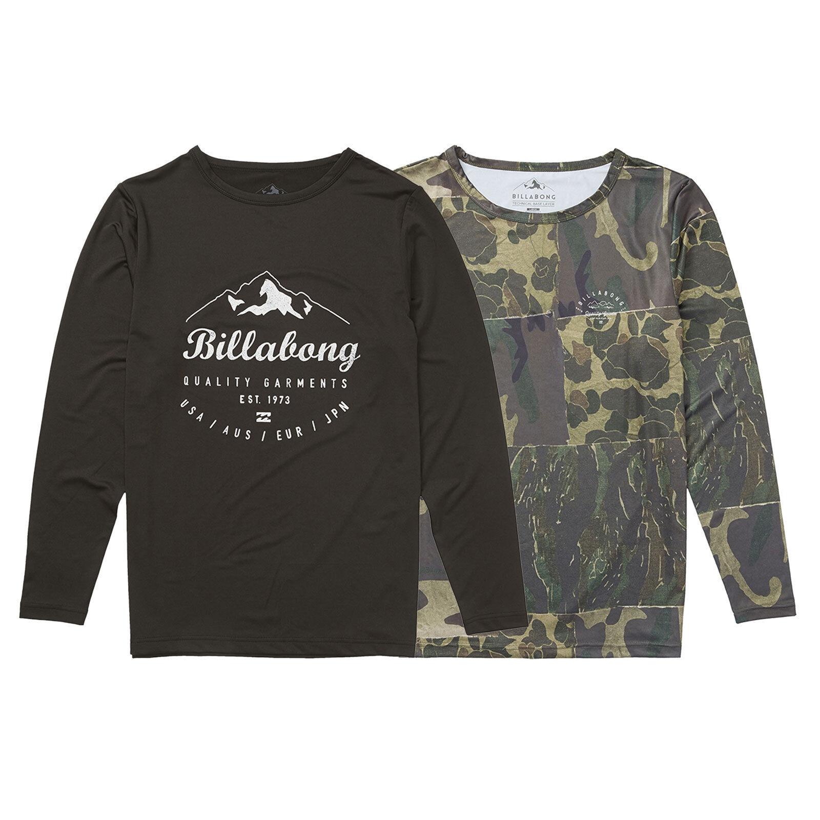 Billabong  Operator Tech Shirt Funktionsshirt Langarmshirt Skiunterwäche NEU  online