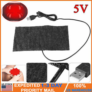 5V-USB-Electric-Heating-Pad-Adjustable-Temperature-Thermal-Warm-Vest-Jacket-USA