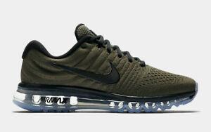 Details about Nike Air Max 2017 Men's Running Lifestyle Shoes 849559 302 Cargo Khaki Black NIB