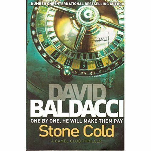 DAVID BALDACCI __ STONE COLD __ A FORMAT __ BRAND NEW __ FREEPOST UK