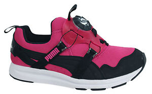 PUMA TRINOMIC DISCHETTI cromo da Donna Scarpe ginnastica slip on rosa 356489 02