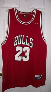 Image is loading Michael-Jordan-Chicago-BULLS-NBA-Basketball-Jersey-size- 66bf6ca1c