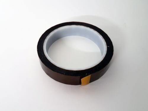 Elektro Polyimid Kapton Klebeband Polyimidband 25mm x 33m Wärmeklasse H