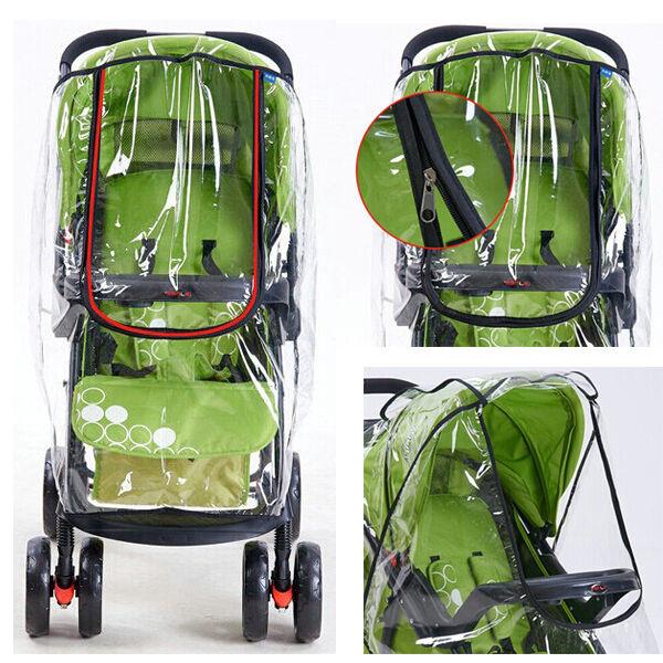 UK Rain Cover Raincover For Universal Buggy Pushchair Stroller Pram Baby Car