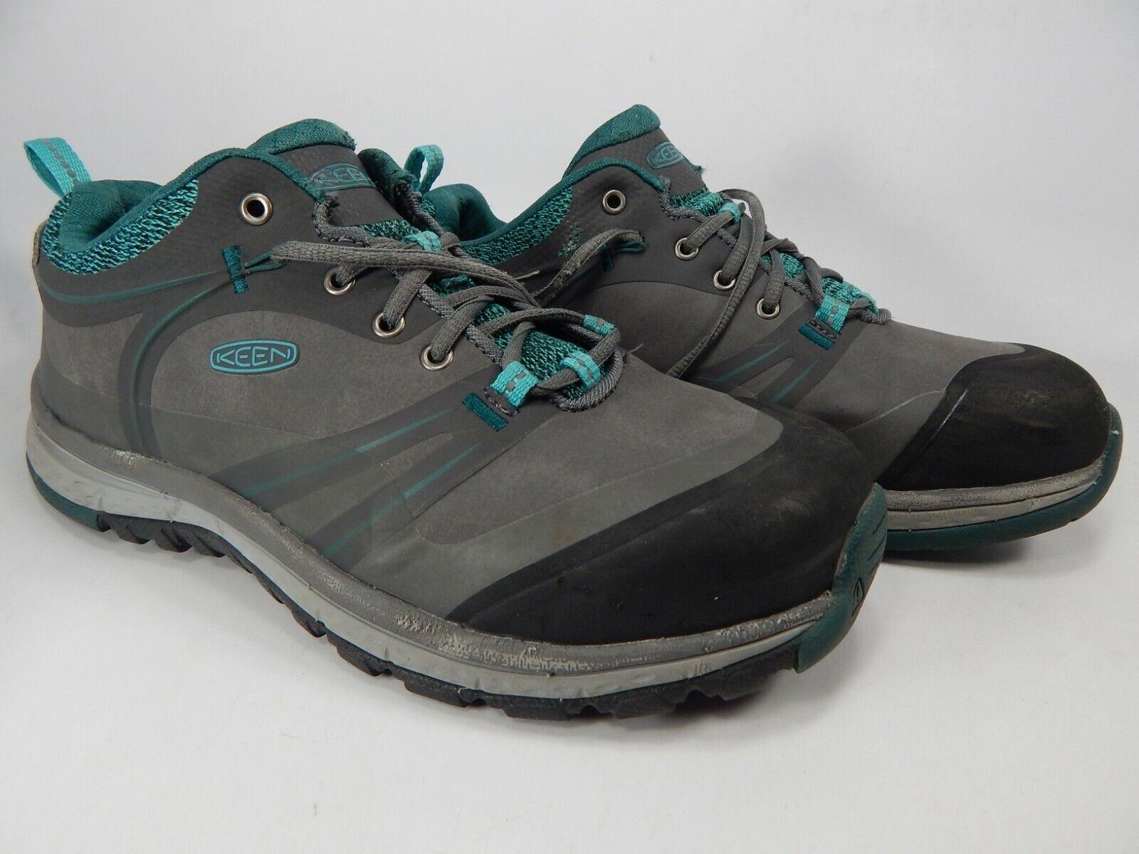 Keen Sedona Pulse Low Sz 7 M (B) EU 37.5 Women's Aluminum Toe Work shoes 1018634