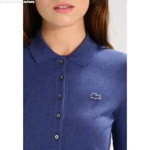 Polo Lacoste Femme slim fit Ancre Chine (