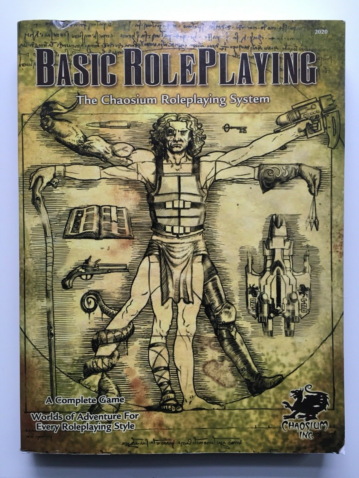 Basic Roleplaying  The Chaosium Roleplaying System - 2020