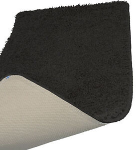 Image Is Loading Black Machine Washable Gy Rugs In Stain Free