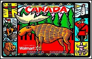 WALMART-CANADIAN-LIFE-STYLE-MOOSE-MOUNTY-POLICE-FD21869-COLLECTIBLE-GIFT-CARD