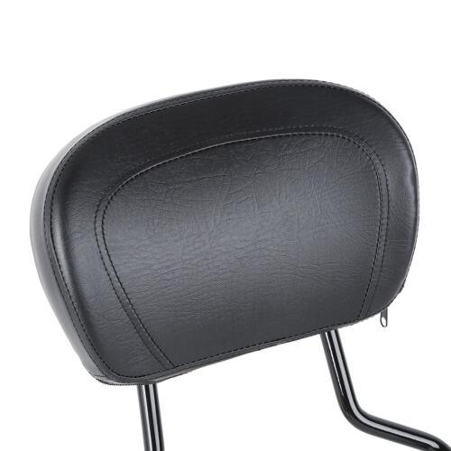 Detachable Sissy Bar Backrest Stealth Luggage Rack Fit For Harley Touring 09-19