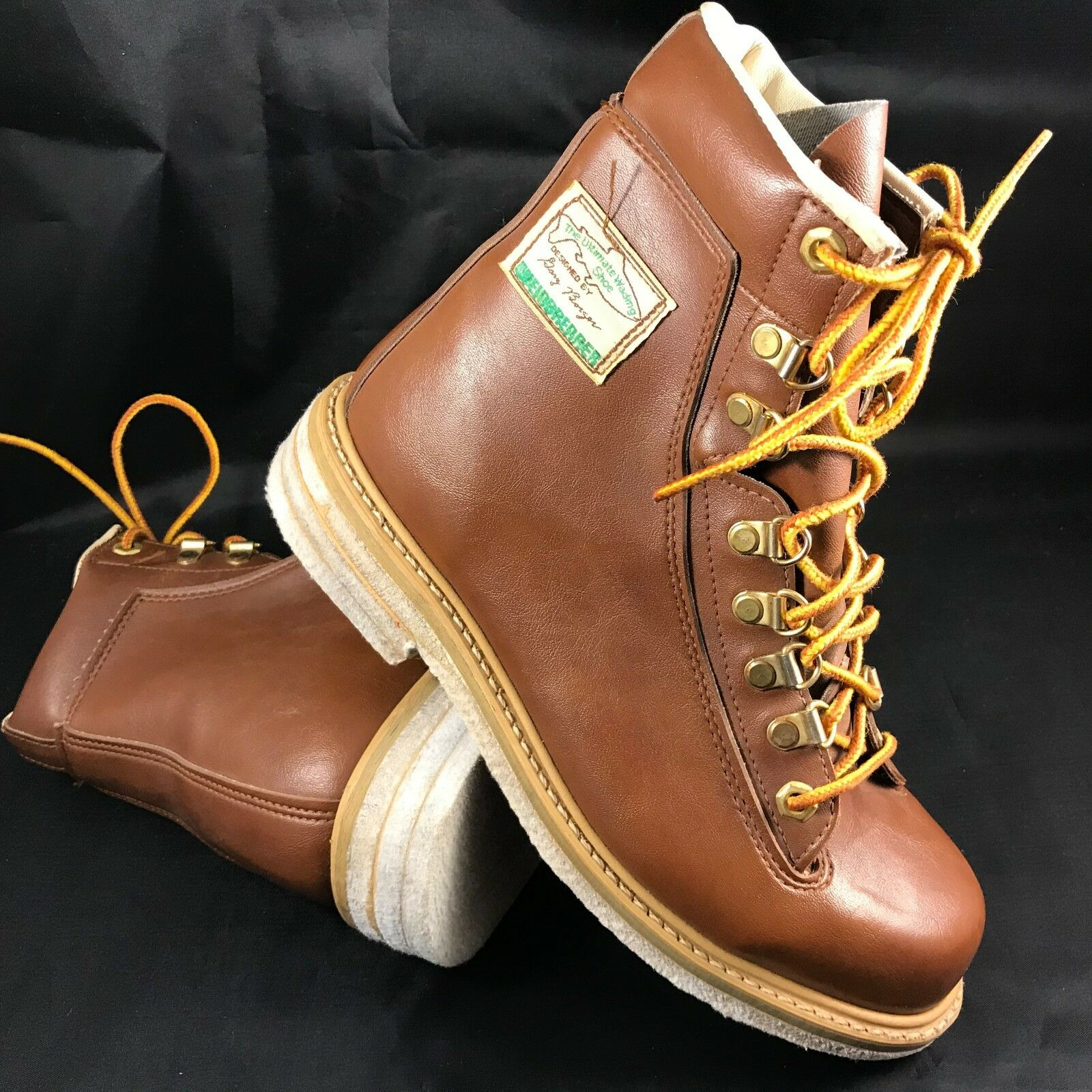 MINT Weinbrenner Ultimate Wading shoes Fishing Boots Gary Borger Felt Sole