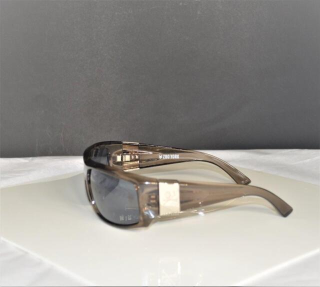 de3cd24e029 Zoo York Rectangle Sunglasses One Size 20177-405101-ZYS~Skull Logo Metal  Sides