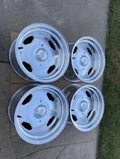 4 15x8 Centerline Aluminum Billit Wheels Fits Chevy Gmc Truck 6x55 Boltpattern