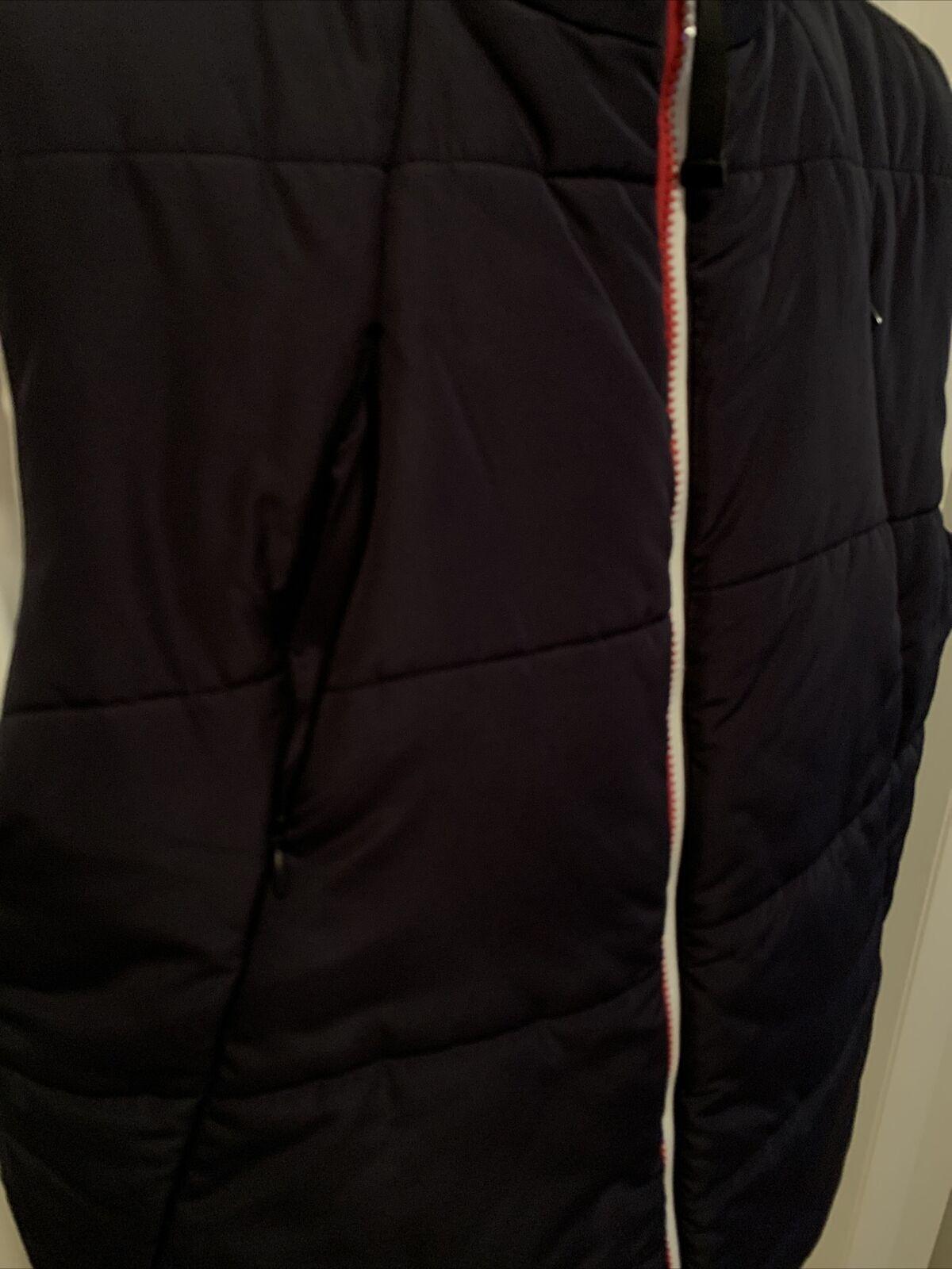 Tommy Hilfiger Mens Reversible Puffy Vest Blue/Wh… - image 8