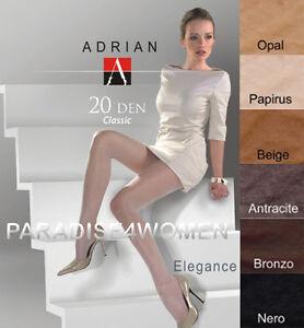 Top-Quality-Tights-Adrian-034-ELEGANC-034-20-Denier-Sheer-Matt-Available-Size-S-XL