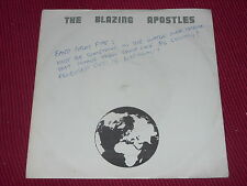 The Blazing Apostles:  Day Of Descent   UK  Near Mint  Promo   7""