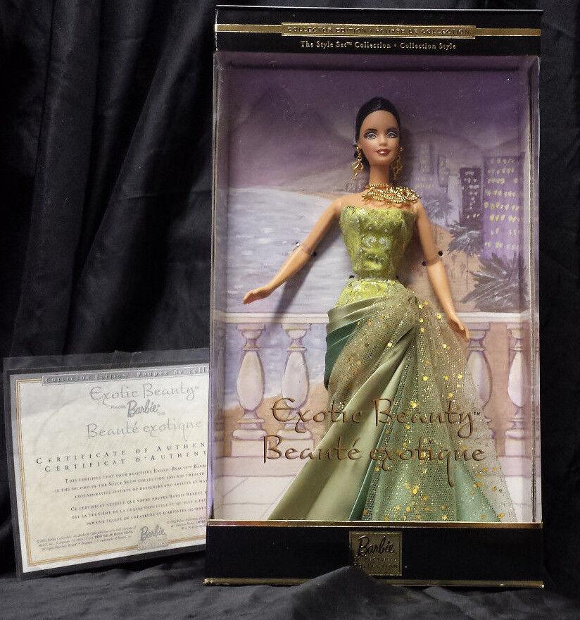 Mattel® Barbie Exotic Beauty Collectior Edition wie Neu in OVP