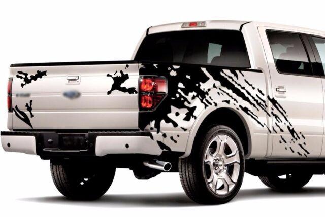 MUD SPLASH GRAPHICS Vinyl Stickers Decals for truck pick up f-150 tundra ram