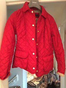 pequeo botones Bnwot con Tamao dorados Red Zara Weight Coat Lighter xYrYqzwg