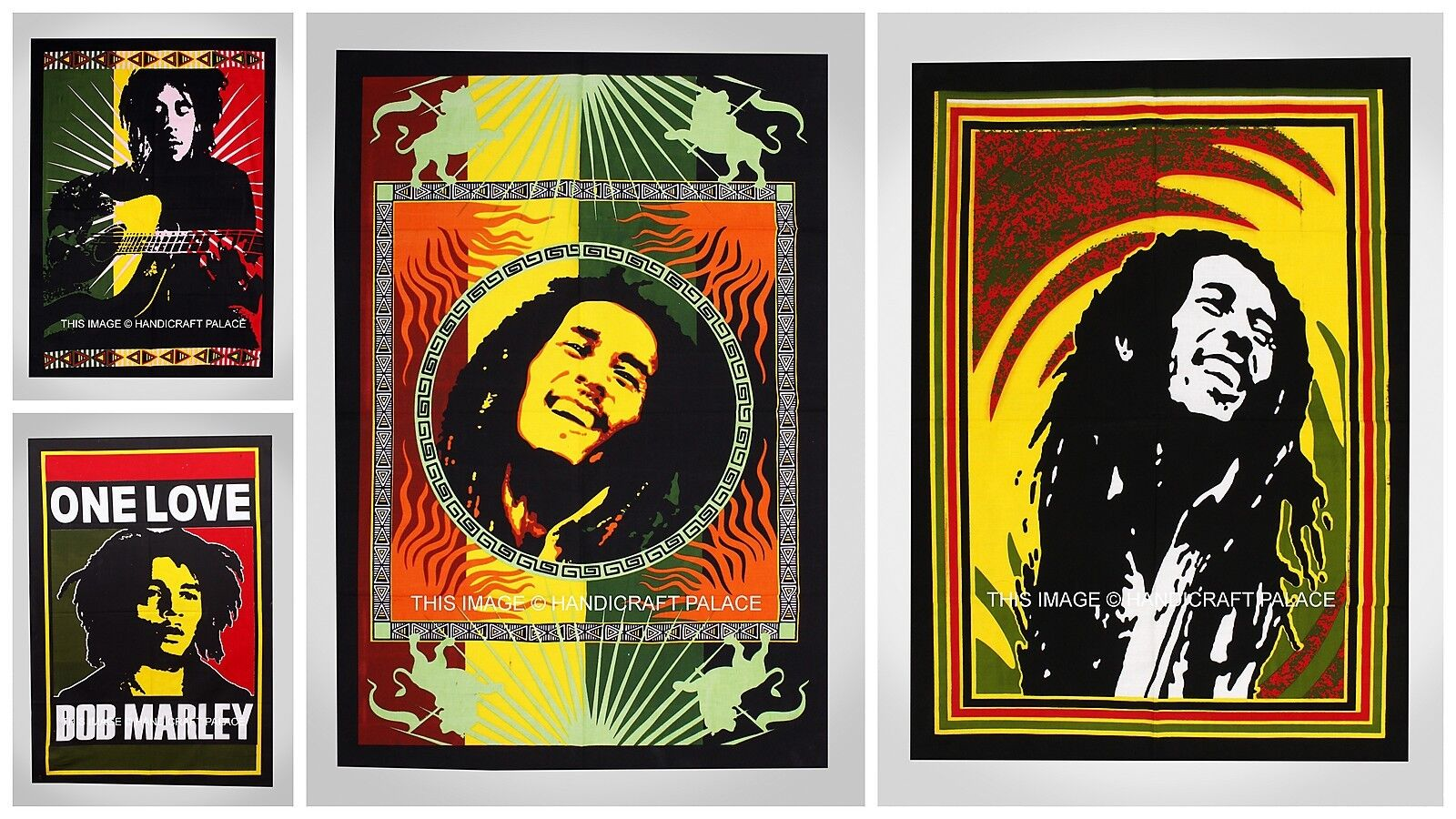 10 PC Wholesale Lot Bob Marley Tapestry,Indian Hippie Wall Hanging Bohemian