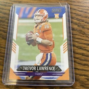 Trevor Lawrence 2021 Panini Score *FIRST PANINI OFFICAL ROOKIE CARD* No. 301 J71