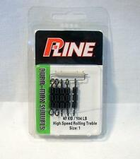 P-Line HS3R1 Pucci 3 Barrel Rolling Chain High Speed Fishing Swivels Size 1