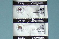2 Pieces 379 /SR521SW Energizer Watch Batteries  FREE Shipping