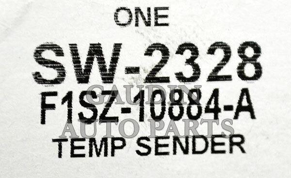 FORD OEM-Coolant Temperature Sender Sending Unit F1SZ10884A