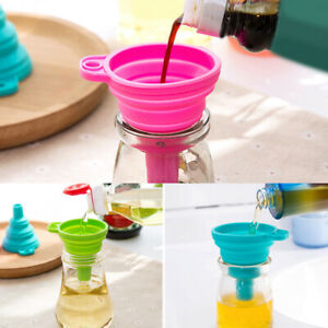 Am-HB-Silicone-Gel-Practical-Collapsible-Foldable-Funnel-Hopper-Kitchen-Tool-E