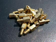 Latón eXXtreme CPU 6mm/6mm placa madre tornillos de montaje-Paquete de 20