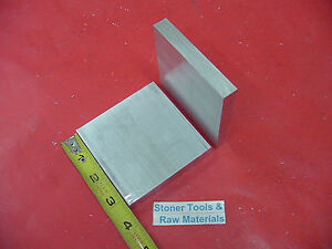 """2 Pieces 3//8/"""" X 6/"""" ALUMINUM 6061 FLAT BAR 16/"""" long SOLID T6511 PLATE Mill Stock"""
