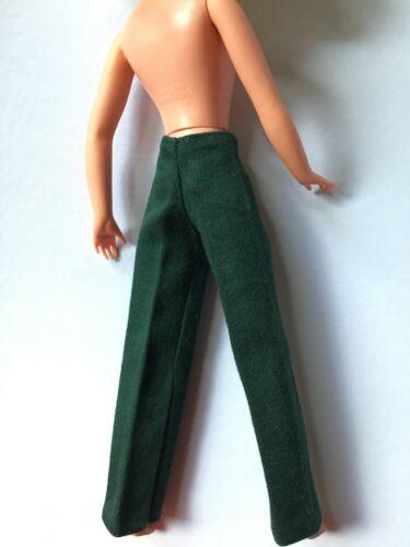 "Sindy Cool cliente 1980 VERDE Dritto Pantaloni Fit 11/"" Bambola 44340 shimmyshim"
