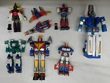 Vintage JAPANESE CHOGOKIN ROBOT DIECAST BROKEN/PARTS LOT