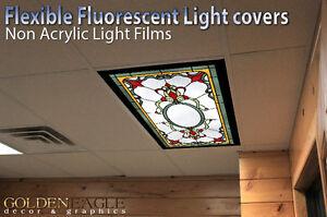 Fluorescent Light Covers >> Flexible Fluorescent Light Cover Films Skylight Ceiling Office