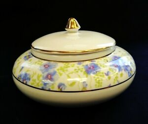 Vintage c1960 Lissco Porcelain Lidded Trinket Box   FREE Delivery UK*