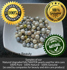 100% Pure Genuine Natural SEAWATER Pearl Powder or Whole for Body and Skin Care