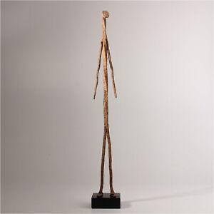 11082-Dogon-Ritual-Iron-Figure-With-Wooden-Base-Mali