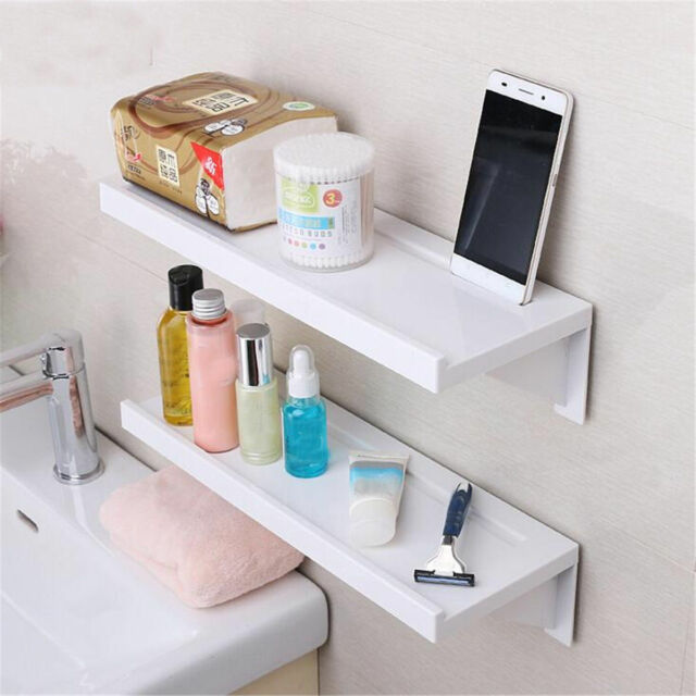 Gentil Bathroom Shelf Holder Shower Storage Rack Caddy Shampoo Organiser Suction  Cups
