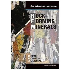 Introduction to the Rock-Forming Minerals, Deer, W. a., Zussman, J., Howie, R. a